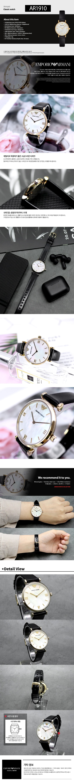 엠포리오 아르마니(EMPORIO ARMANI) AR1910 여성 쿼츠 가죽 시계